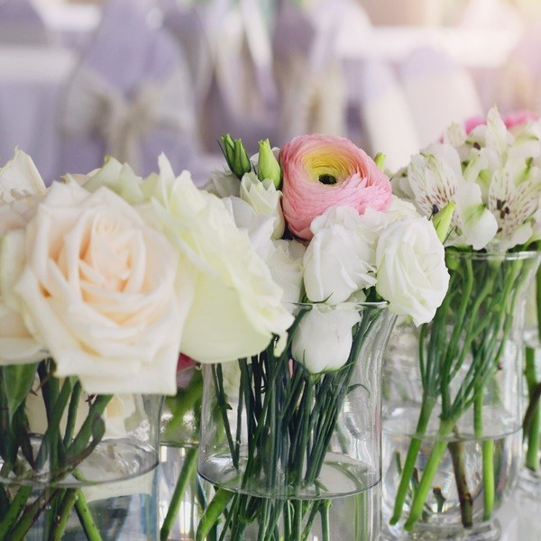 Blumen quadratisch